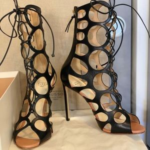Francesco Russo Cutout Sandals